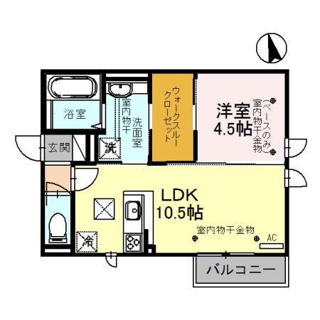 B107号室