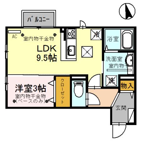 B105号室