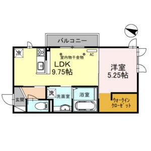 アスティ101号室 [1LDK]
