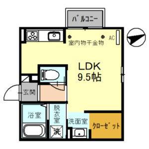 エミネンス101号室 [1R]