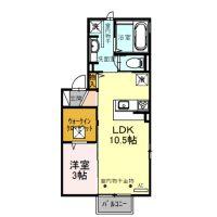 ボクドゥボヌール101号室 [新築][1LDK]