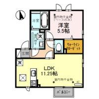 EUI・ピュアA101号室 [新築][1LDK]