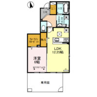 (仮)D-room矢崎町101号室 [新築][1LDK]